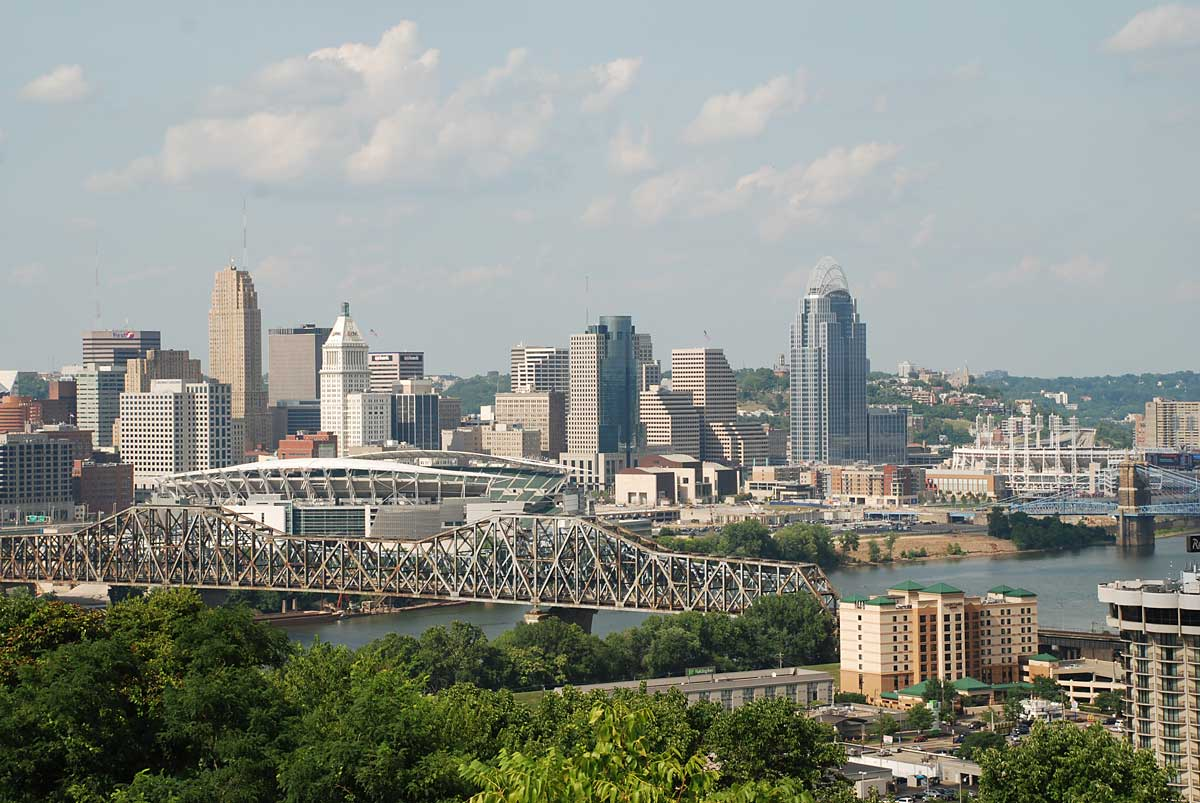 Cincinnati is positioning itself as an entrepreneurial ecosystem.